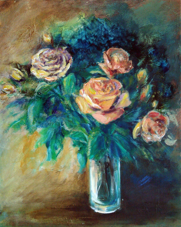 Blumen-in-der-Vase
