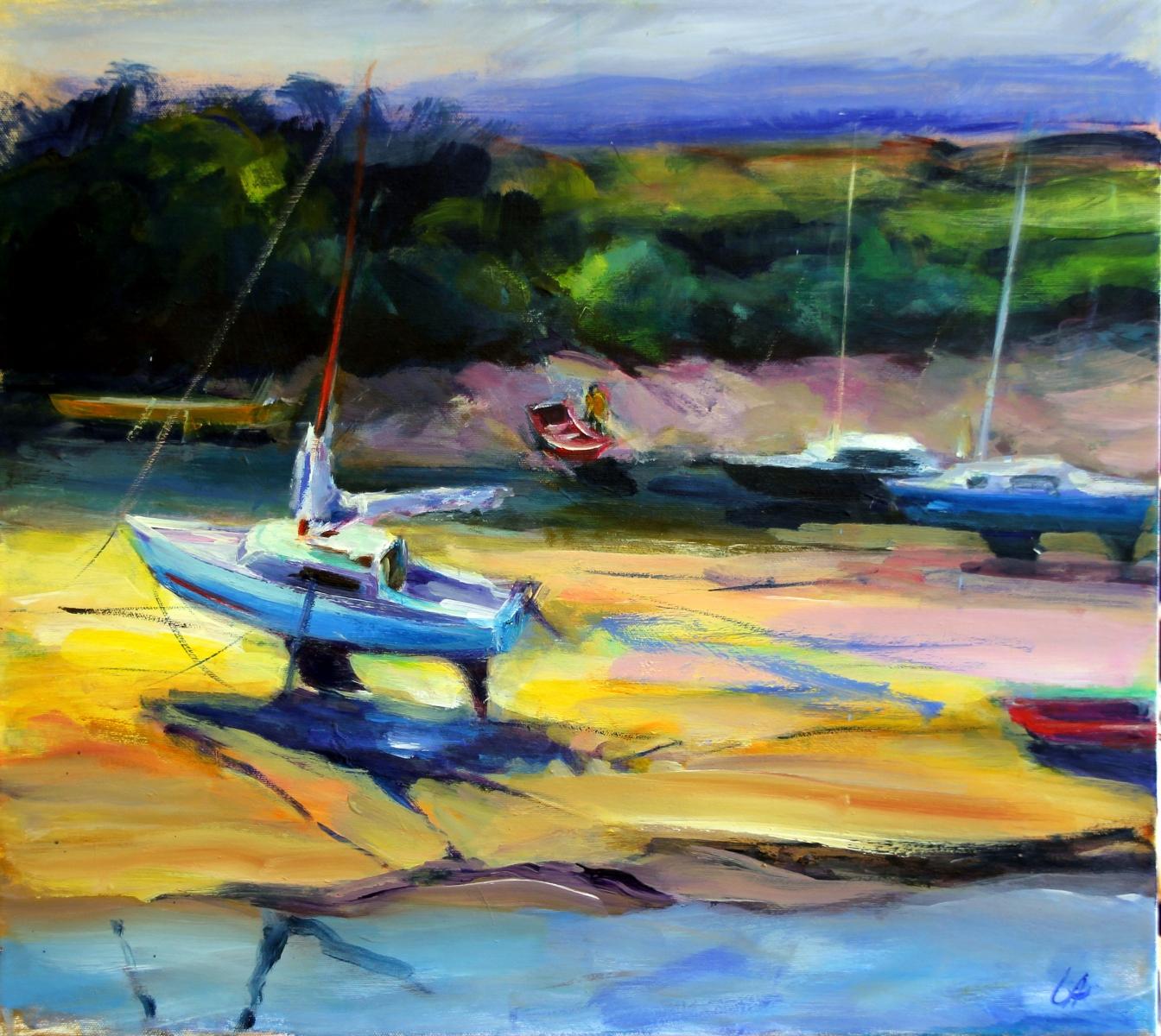Boote-von-Pont-Aven